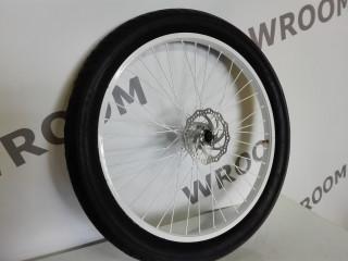 Переднее колесо с тормозной системой