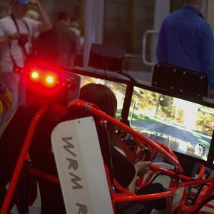 Ощущения за рулем автосимулятора WRM Rally Cross (Xdof)