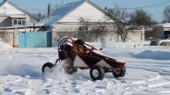 Кросс Карт WRM с колесами от ATV