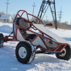 Go Kart WRM (ATV колёса)