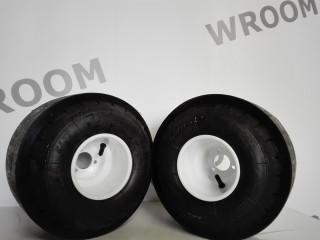 Задние колеса в сборе с накладками